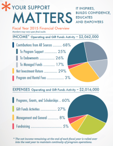 Pie Charts_FY2015 Financial Overview copy