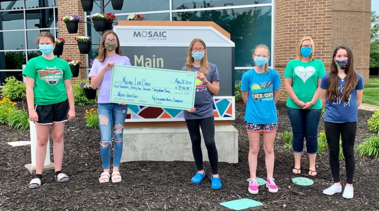 Mid-Buchanan Students Donate Locally